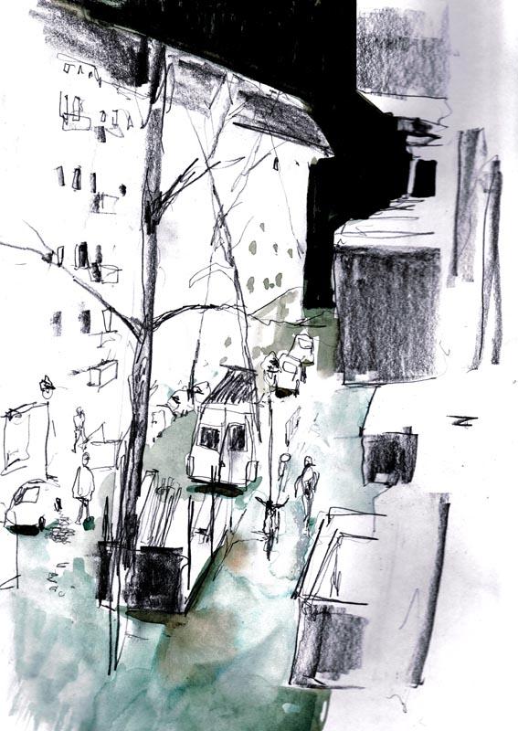 sketch_Leinestraße