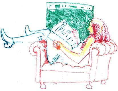 sketch_frau im sessel