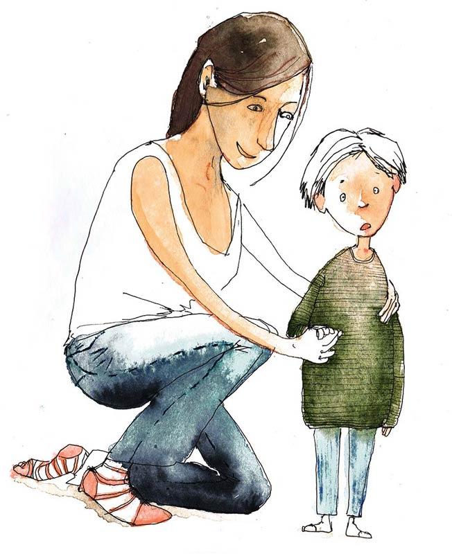 Mutter-und-Sohn